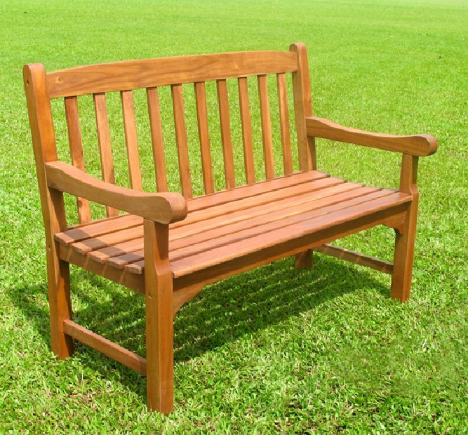 Rangoon 2 Seater Bench Simply Wood
