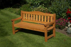 Somerset 3 Seater Bench 9360380