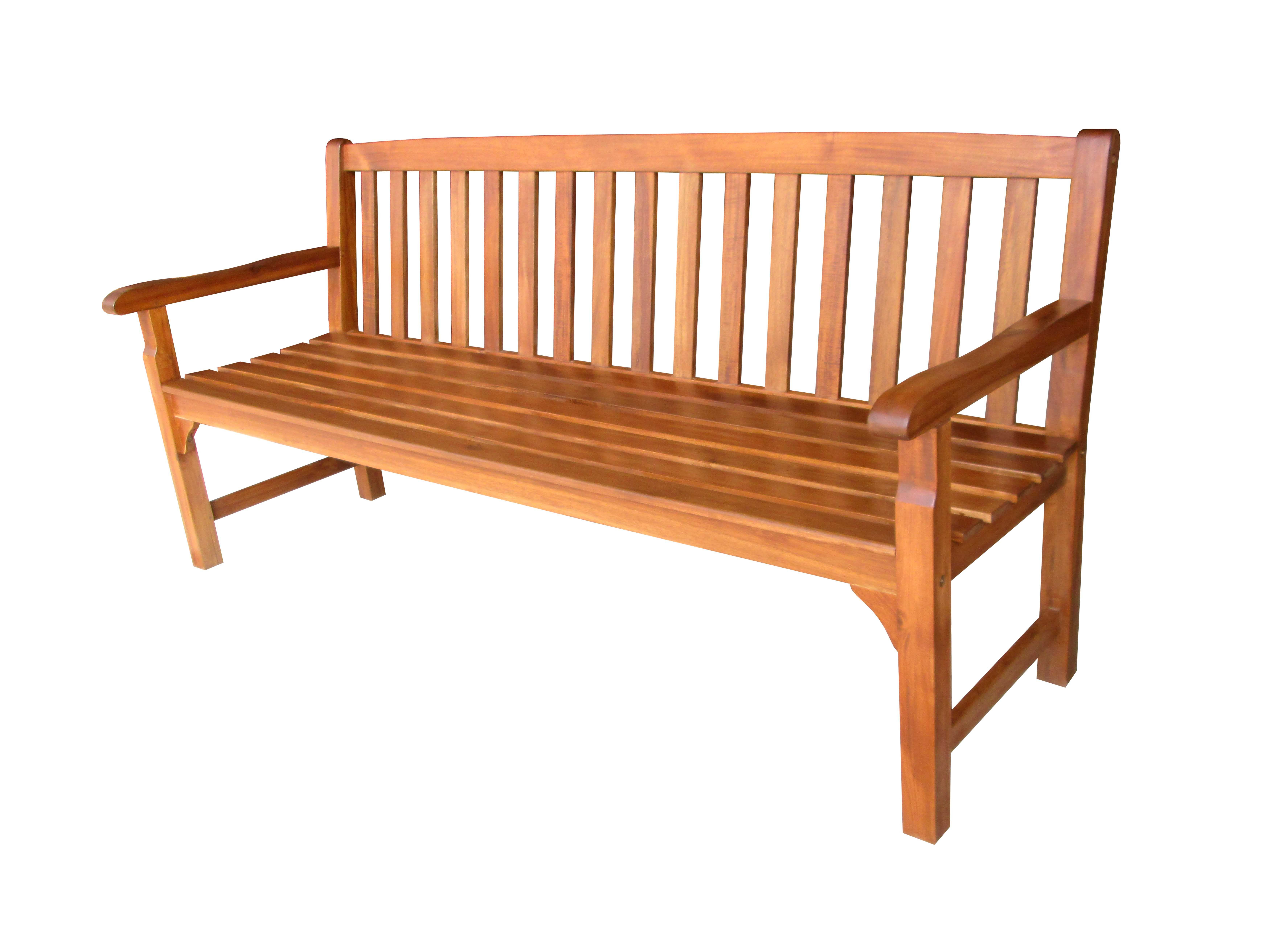 Chunky 3 Seater Bench Simply Wood