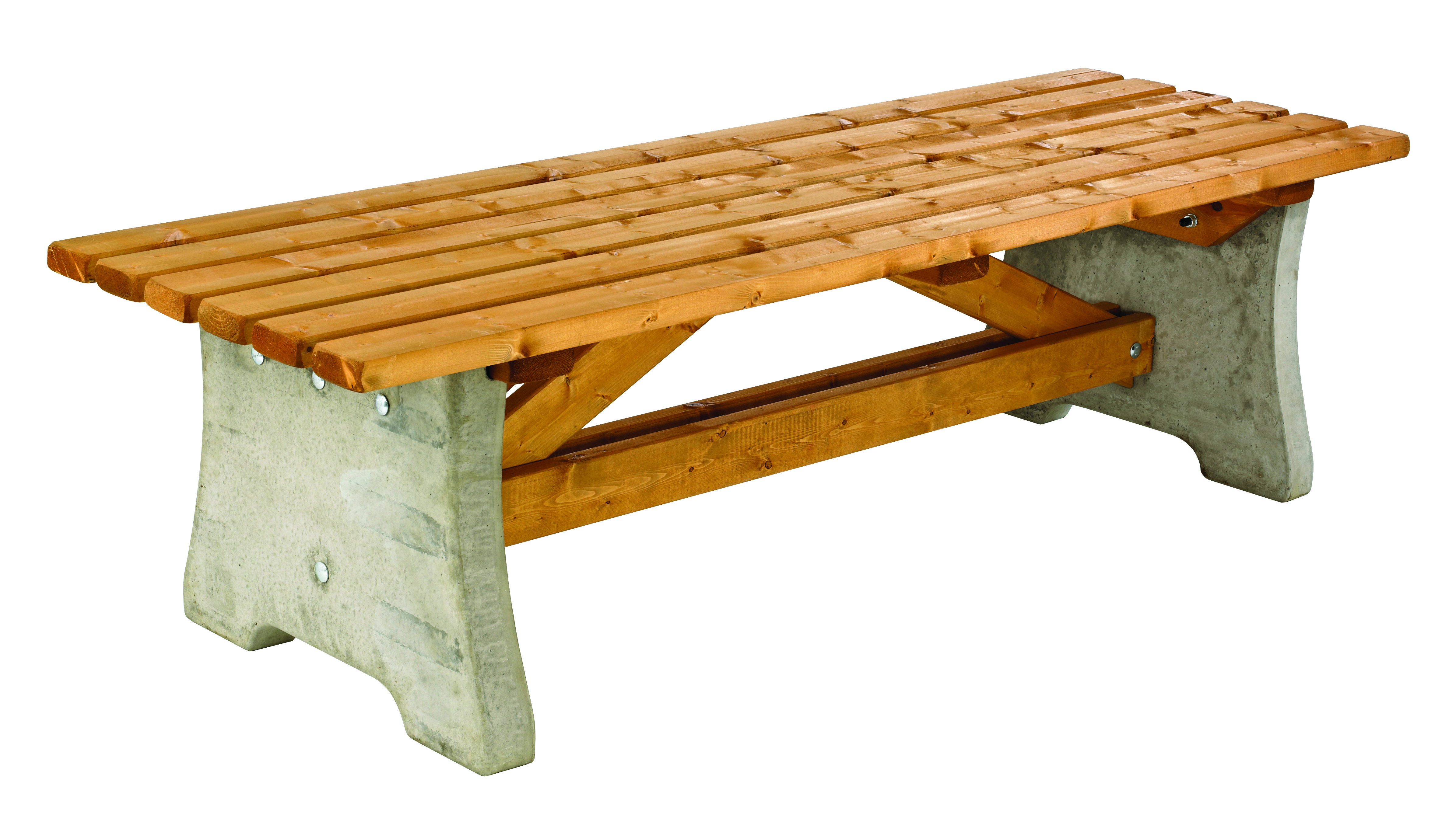Concrete Pennine Bench Simply Wood